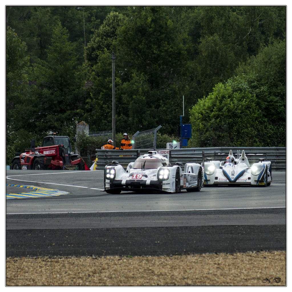 La 83 ème édition des 24 Heures du Mans a eu lieu les samedi 13 et dimanche 14 juin 2015 - Sarthe