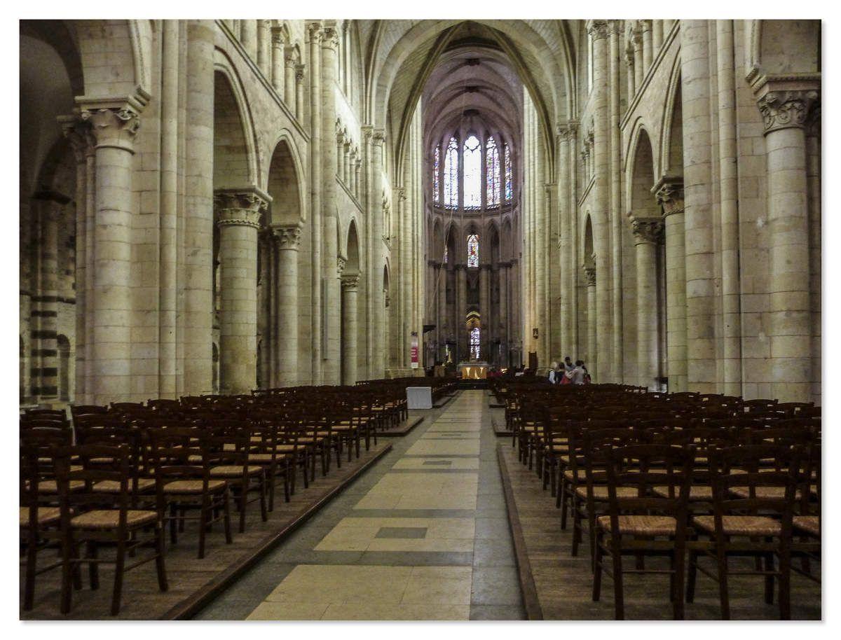 Cathédrale Saint Julien du Mans - Intérieur