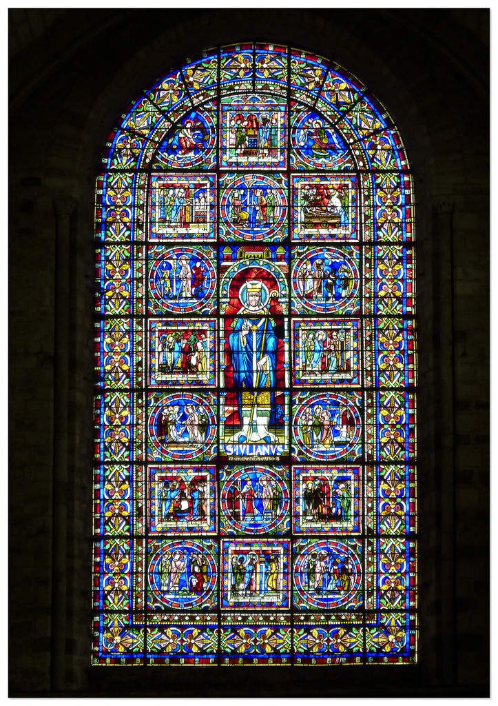 72 - Vitraux - Cathédrale Saint-Julien du Mans - Sarthe
