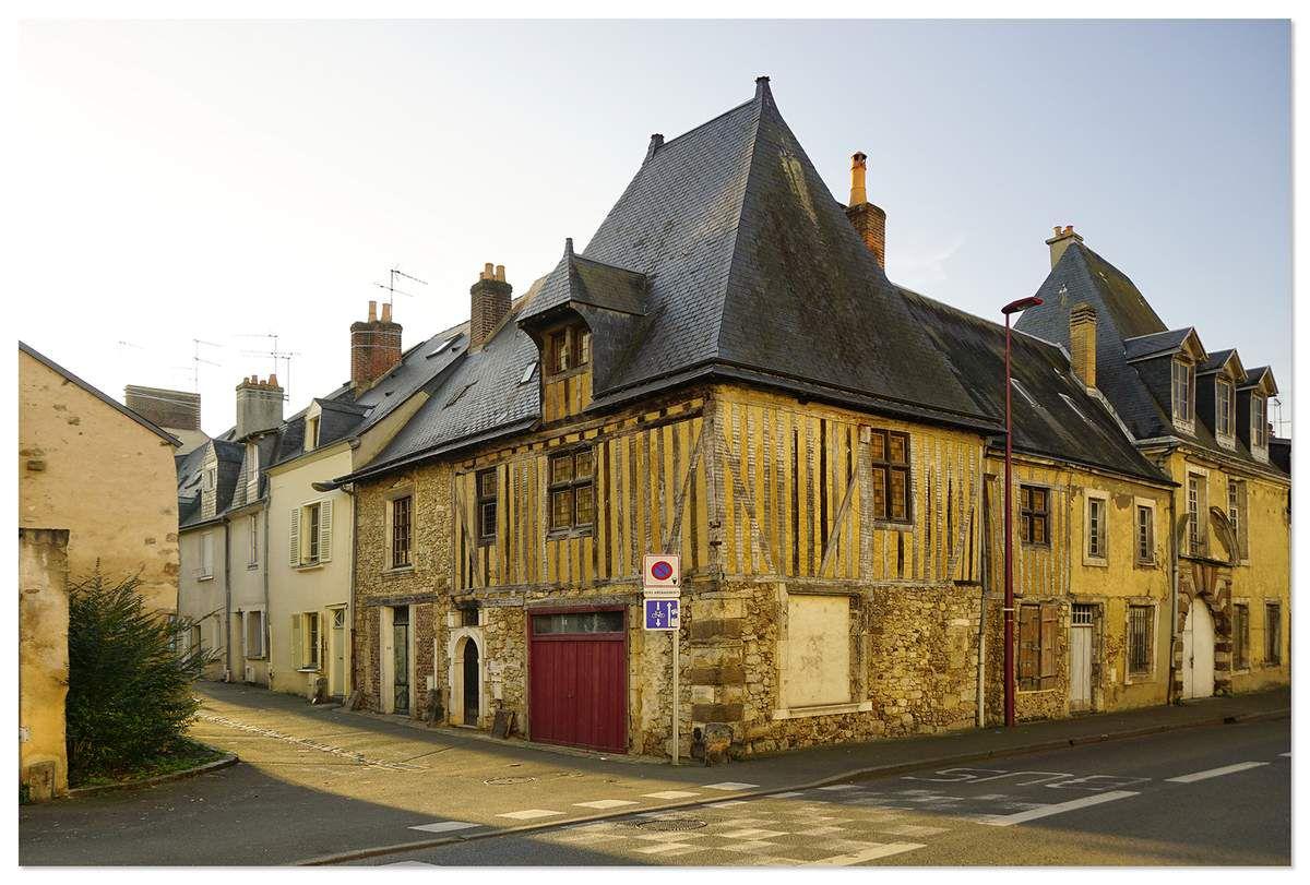 Rue du AH AH, le Mans.