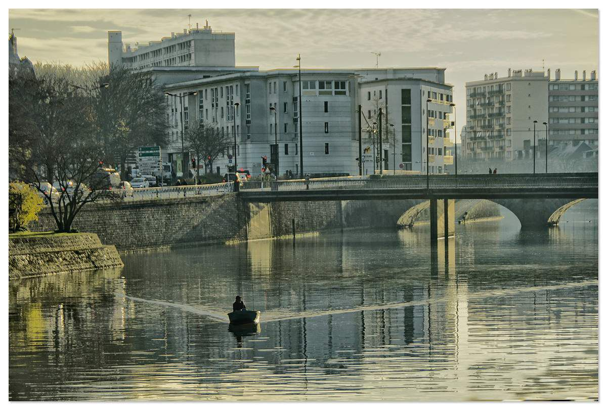 Pont Perrin, le Mans.