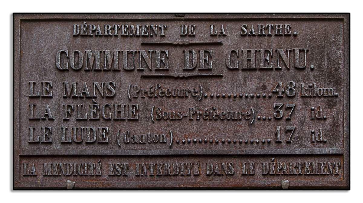 Chenu - Sarthe - 72