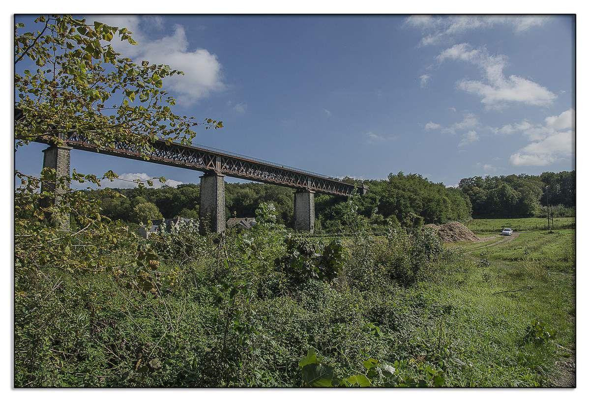 Chenu - Viaduc ferrovière - Sarthe