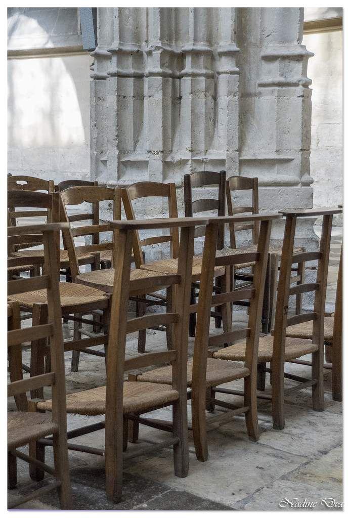 Choeur et stalles abbaye de la Trinité - Vendôme