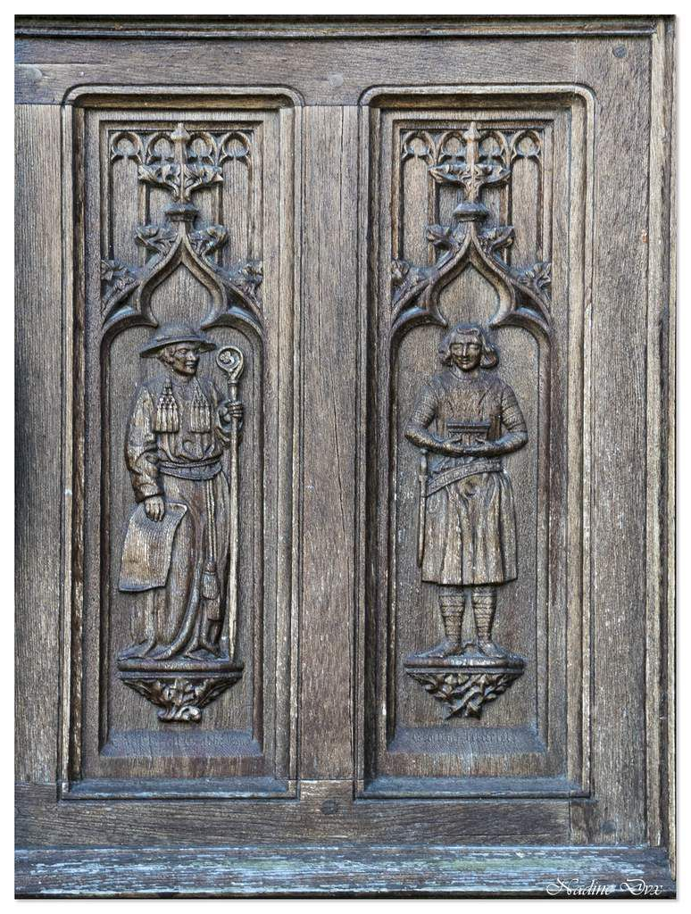 Façade de l'abbaye de la Trinité - Vendôme