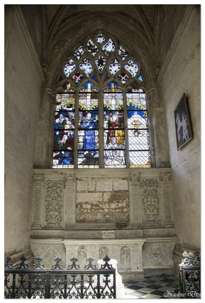 Vitraux de l'abbaye de la Trinité - Vendôme
