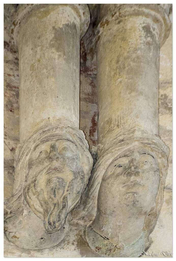 Détails des voûtes, abbaye de la Trinité - Vendôme