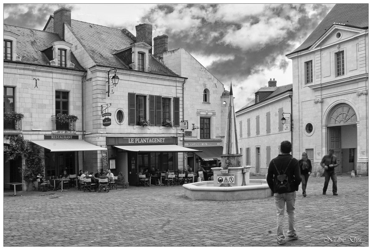 Fontevraud le village