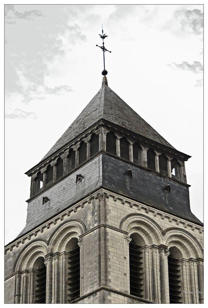 Extérieur de l'Abbaye de Fontevraud.