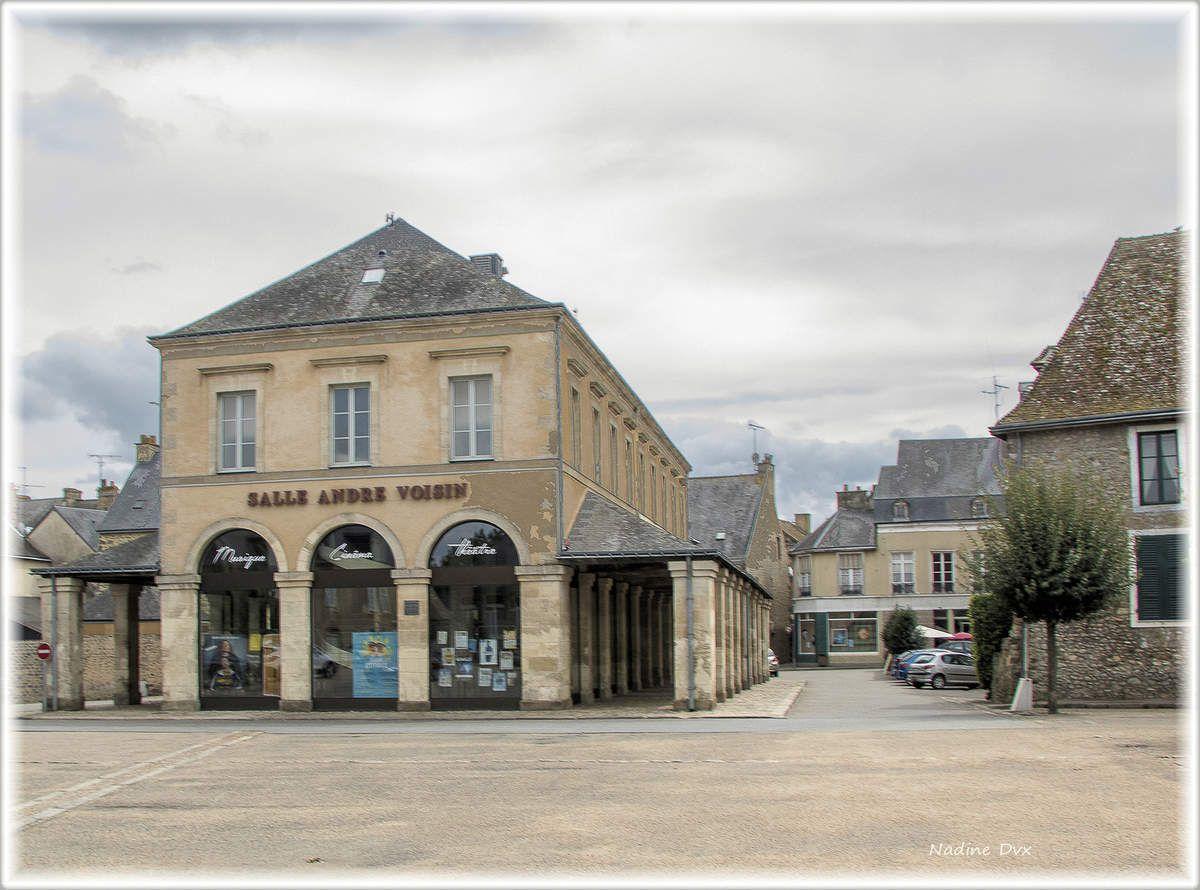 Les anciennes halles - Fesnay-sur-Sarthe