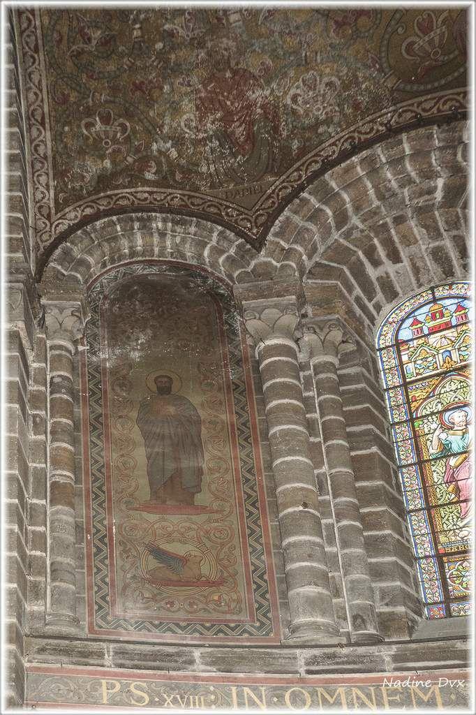 Intérieur de l'église Notre-Dame de l'Assomption Fresnay-sur-Sarthe.