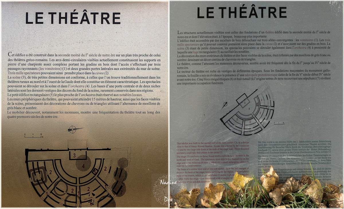 72 - Aubigné-Racan - Le Théatre Antique