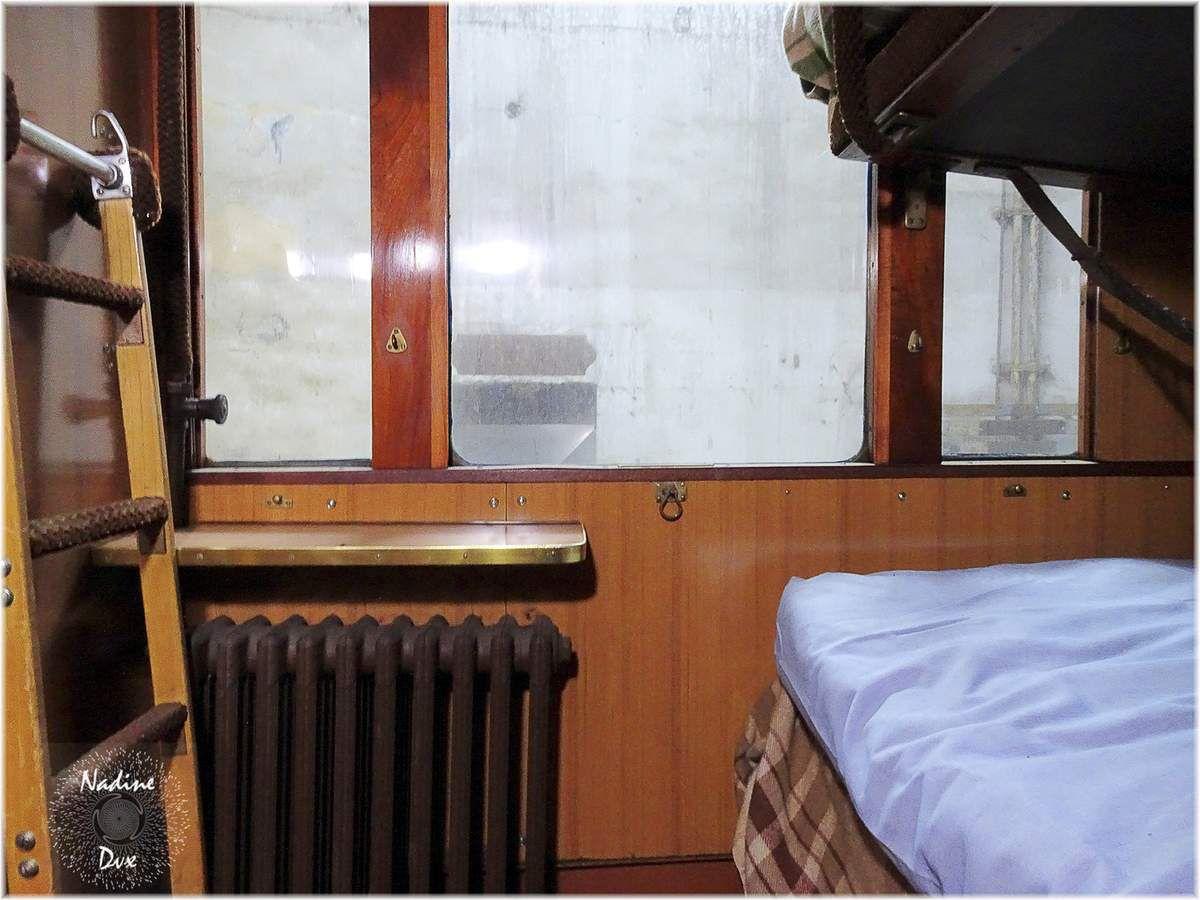 Rotonde de Montabon - Sarthe - Wagon lit de 1929, classé M.H.