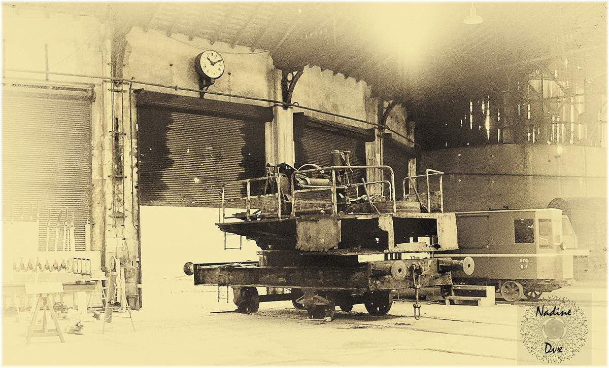 Rotonde de Montabon - Sarthe - Patrimoine ferroviaire.