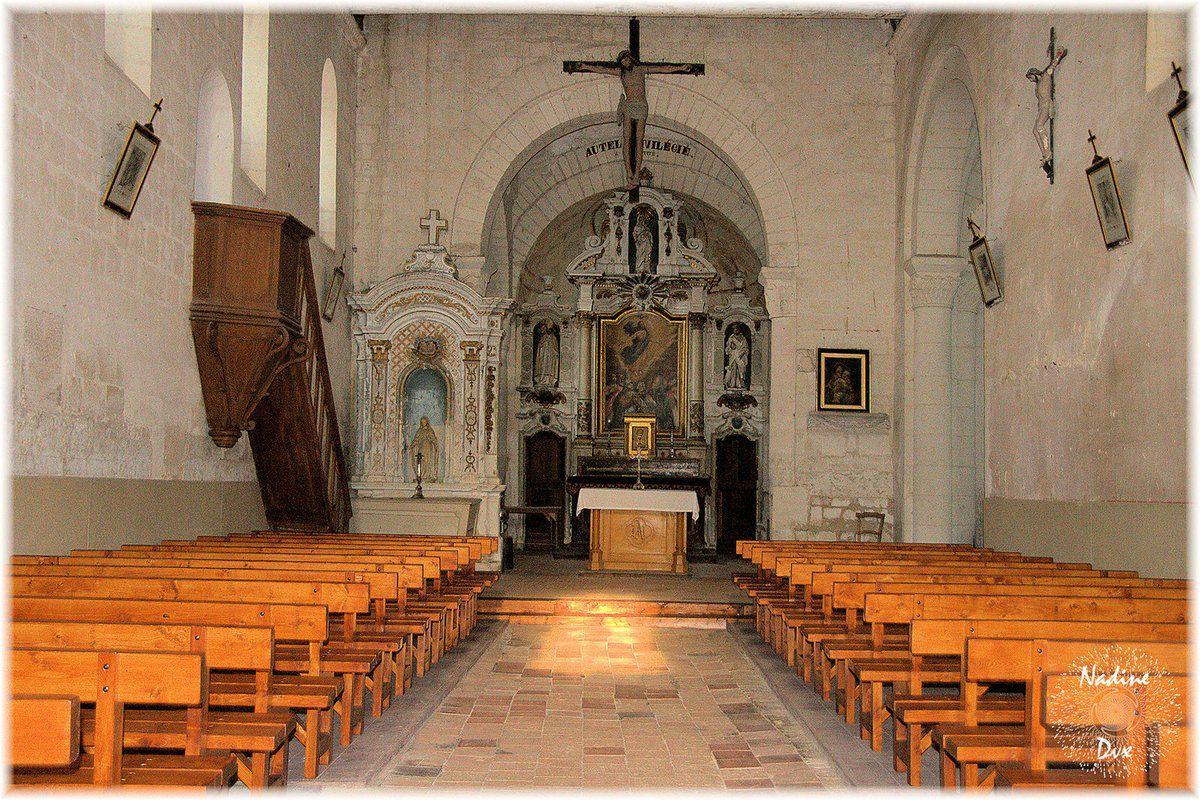 Retables de l'église Saint-Lubin - Coulongé - Sarthe
