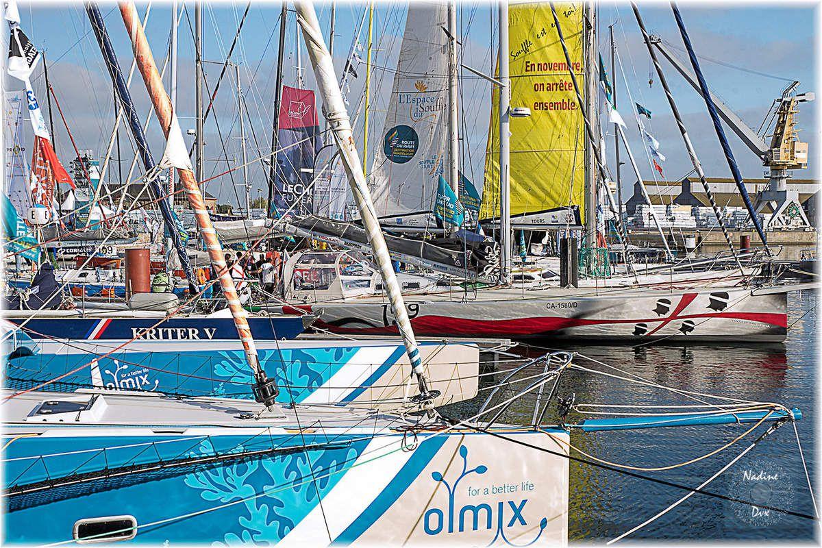 Route du Rhum 2018 - L'avant course - Saint-Malo