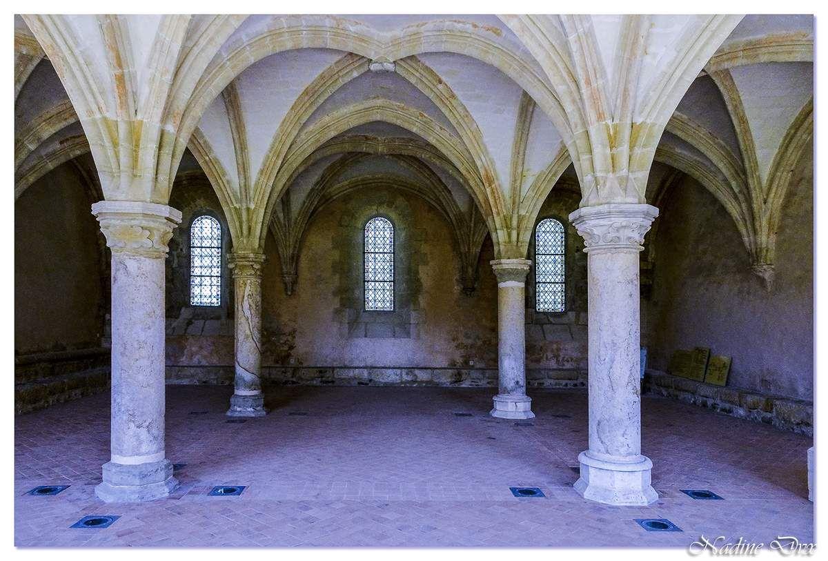 Salle capitulaire Abbaye de l'Epau - Le Mans