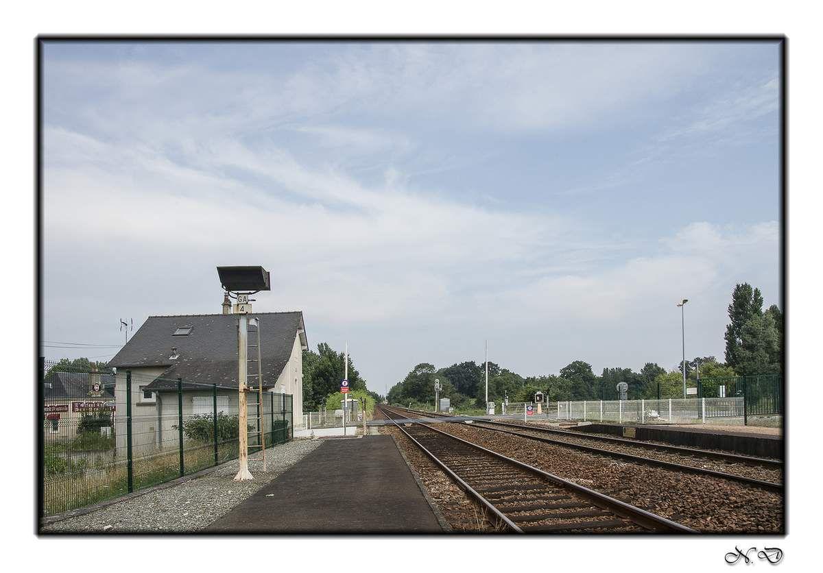 La gare SNCF d'Arnage