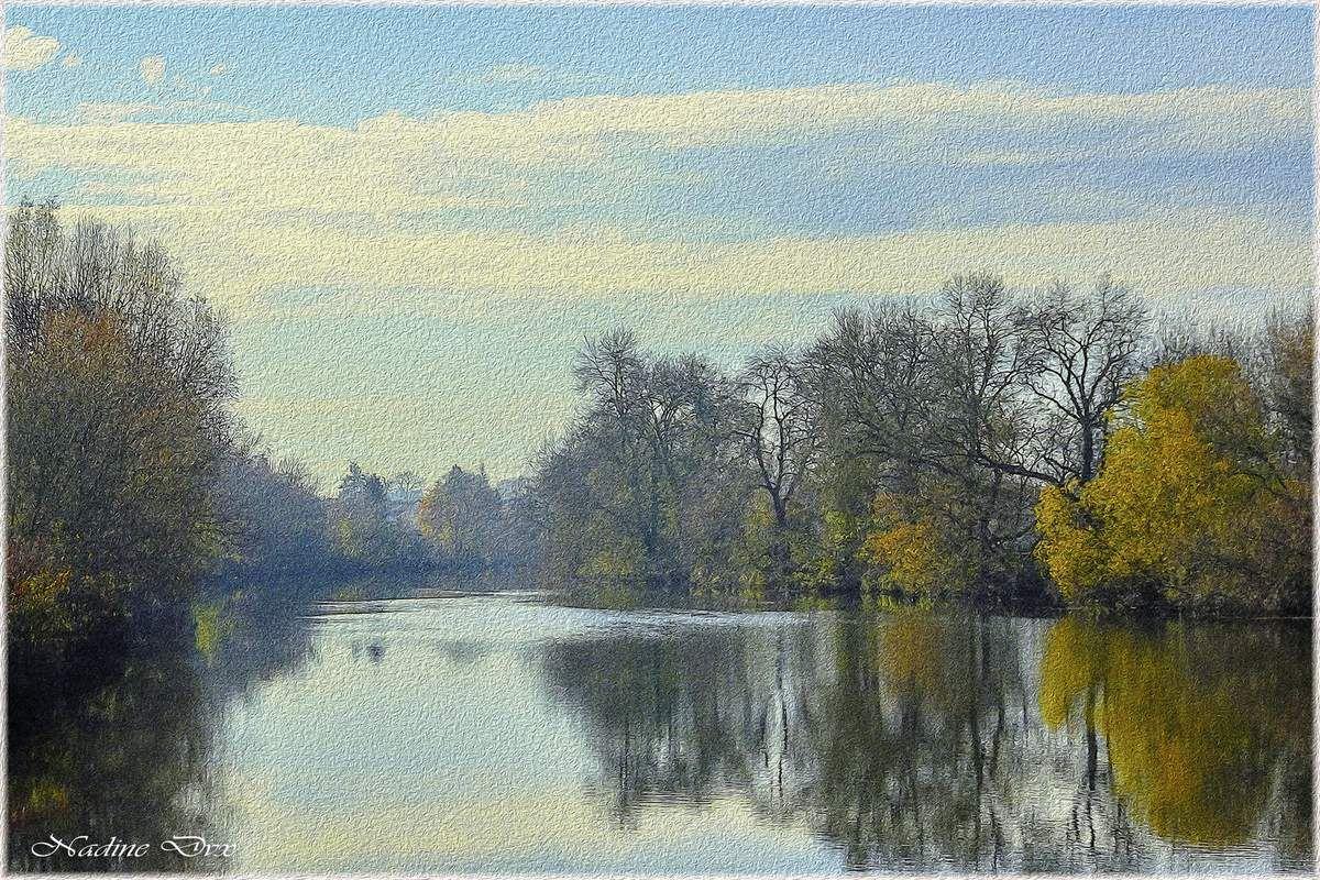 Peinture de la Sarthe à Arnage