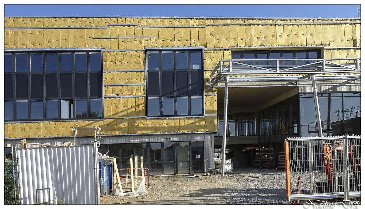 Arnage - Reconstruction du collège Henri Lefeuvre 2018.