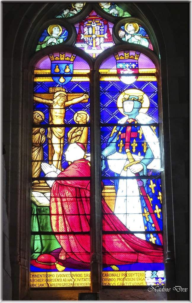 Vitraux église Notre-Dame de Saint-Calais - Sarthe