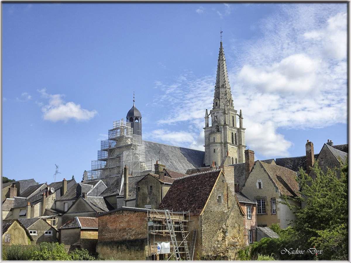 L'église Notre-Dame de Saint-Calais