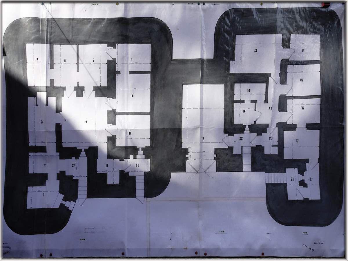 Plan du blockhaus AOK 7 - Le Mans