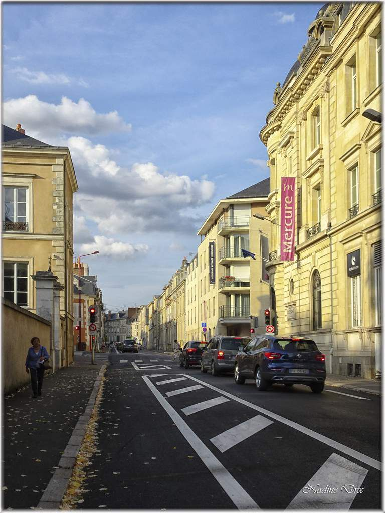 Rue Chanzy le Mans