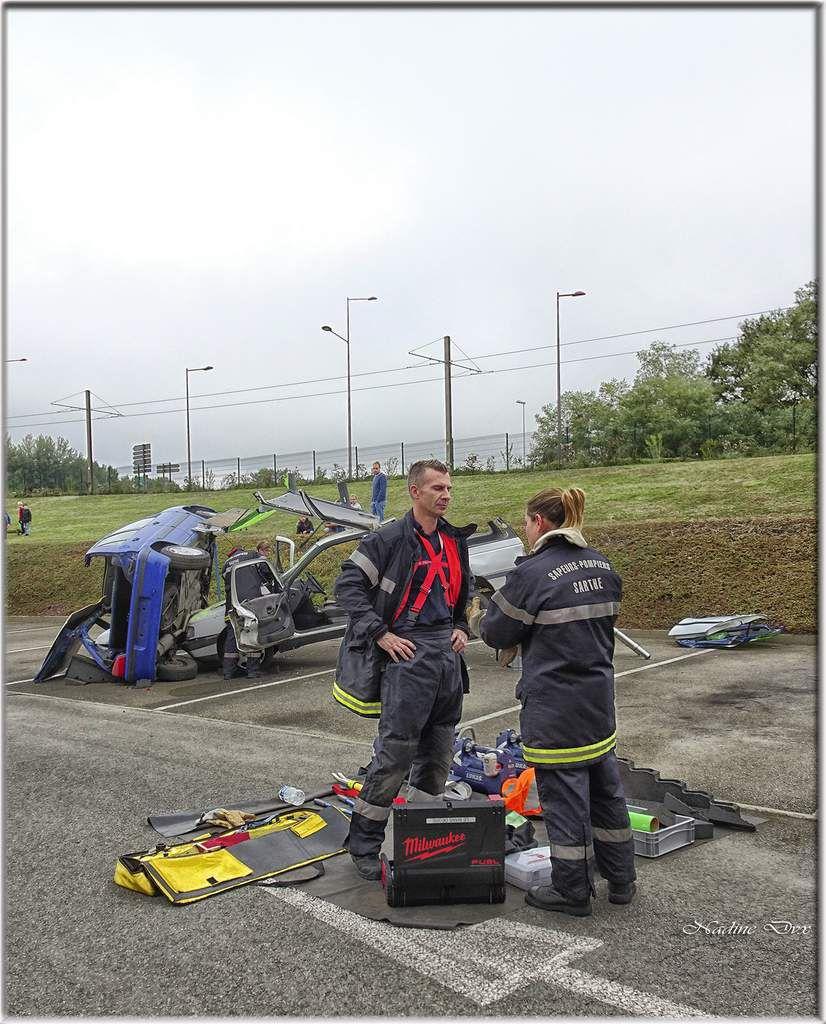Pompiers - Le Mans