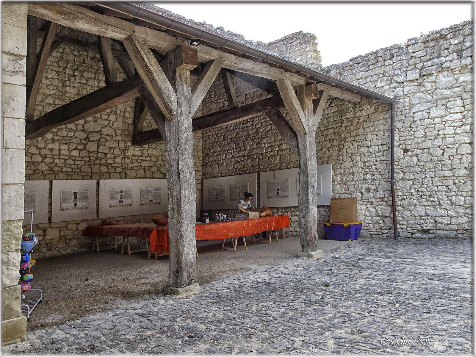 Restaurant du Château du Rivau.