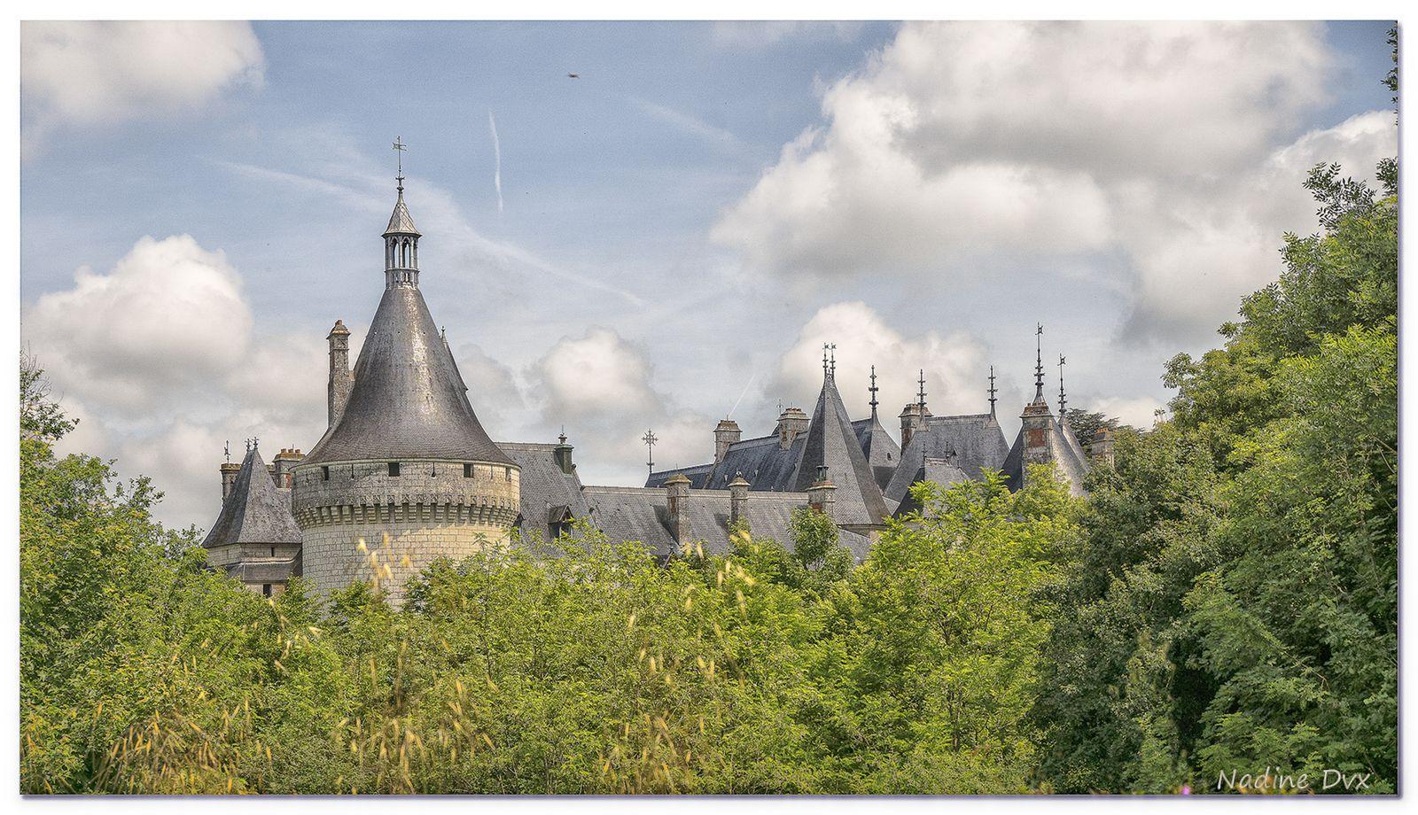 La cour du château de Chaumont-sur-Loire