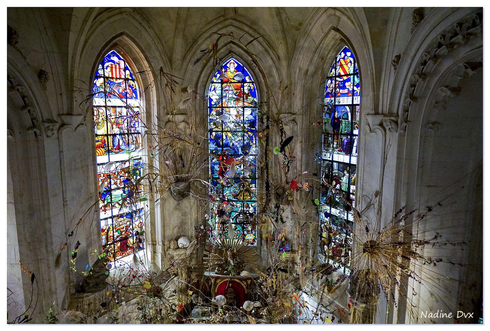 Chapelle du château de Chaumont-sur-Loire.