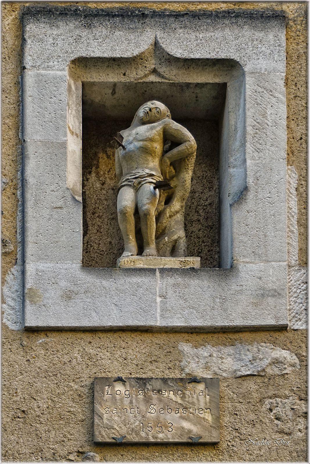 Logis canonial Saint-Sébastien 1553 - Rue des chanoines - Le Mans