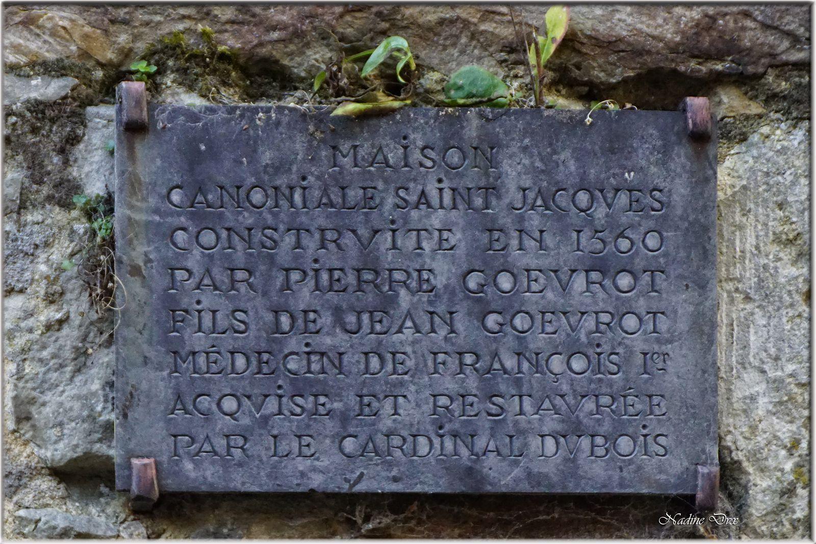 Rue des chanoines - Maison canoniale Saint-Jacques (XVIe siècle) - Le Mans