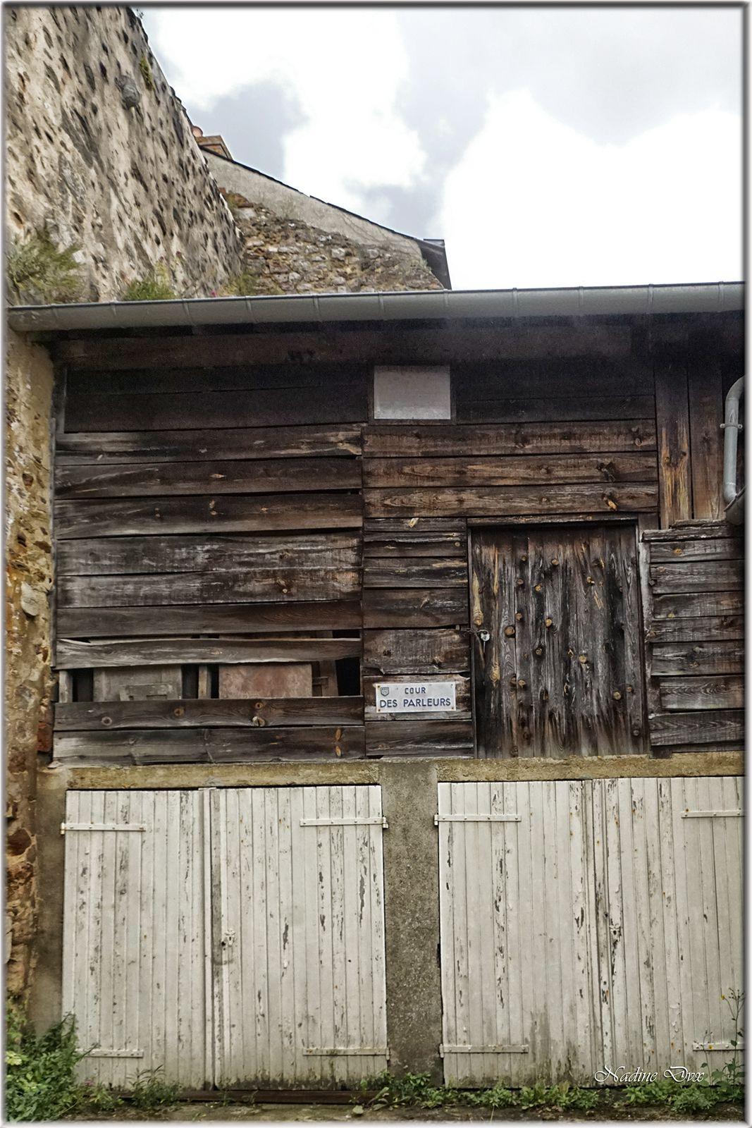 Rue des chanoines - Anciennement : Rue de la Vieille Rome - Le Mans