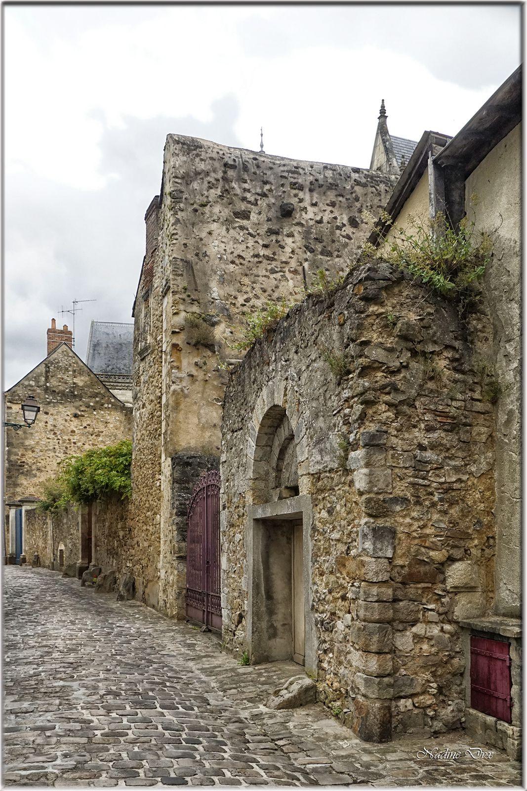 Vestige d'une porte romane rue des chanoines -Le Mans