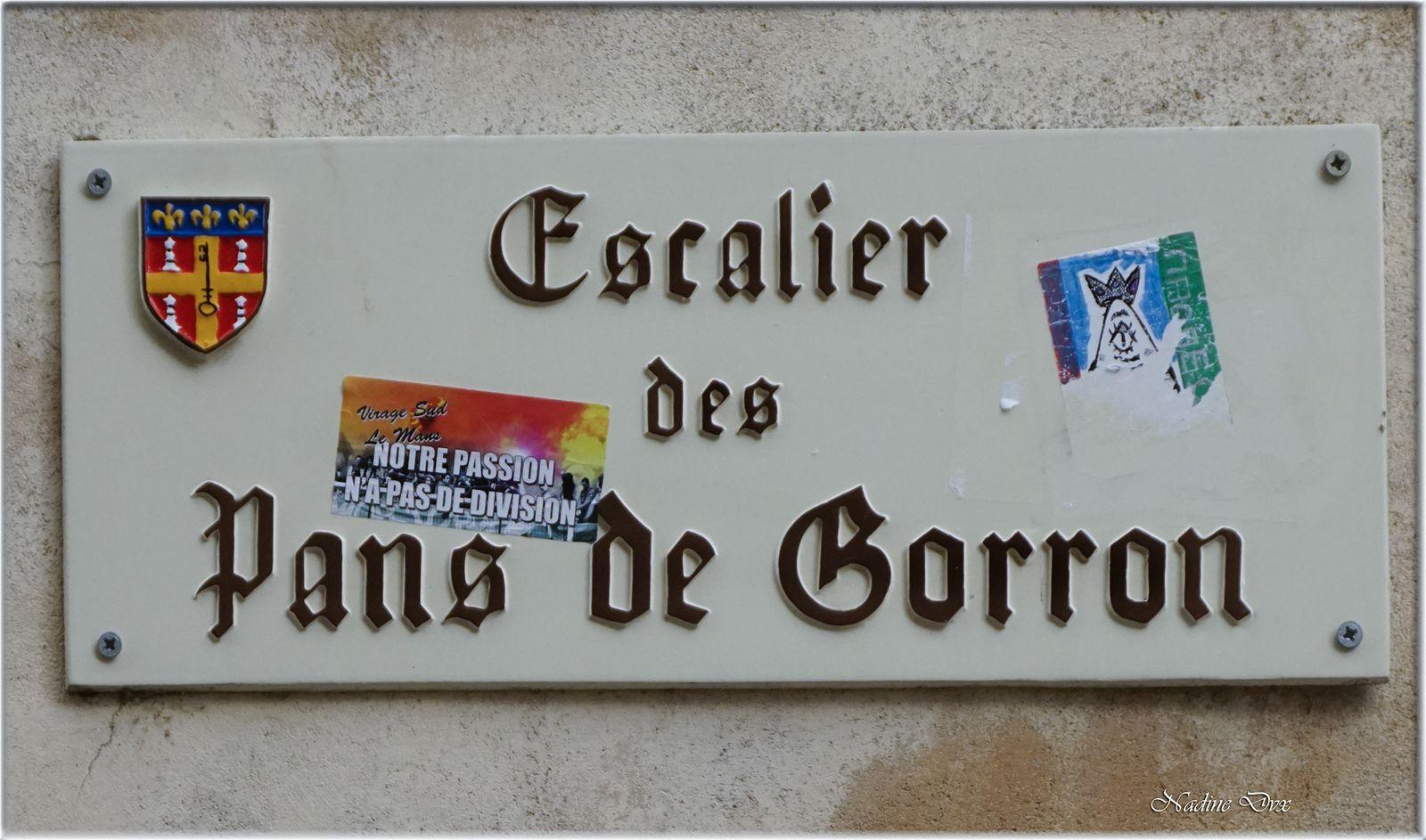 Le Vieux Mans -Cité Plantagenêt - Rue des chanoines