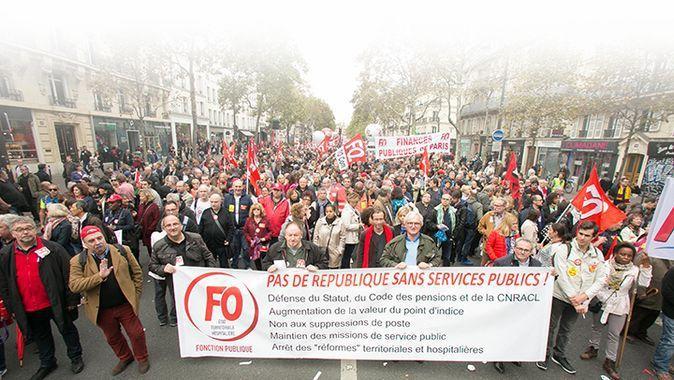 9 mai 2019 : grève et manifestation de la Fonction publique