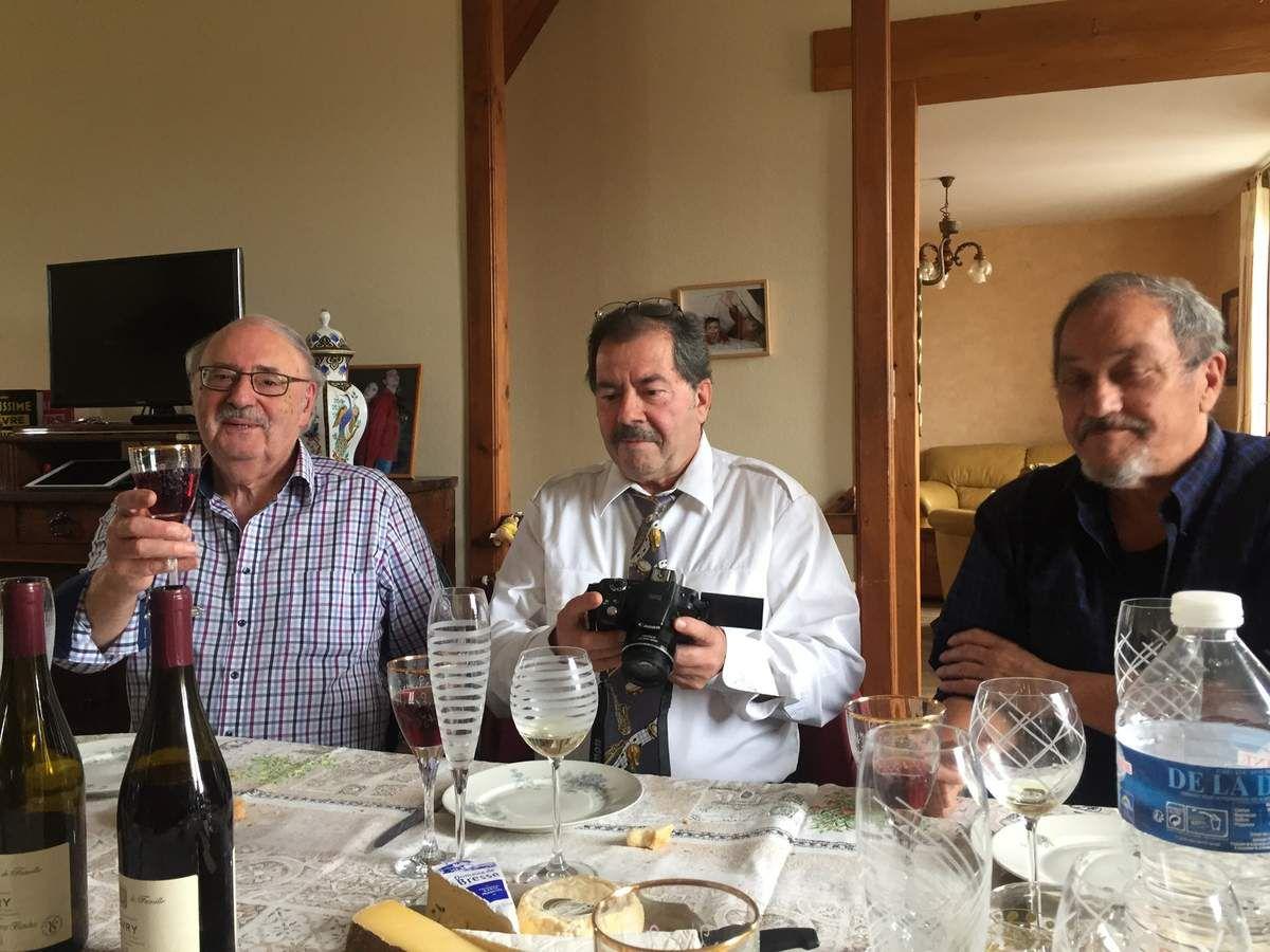 René, Michel, et Jean-Pierre !