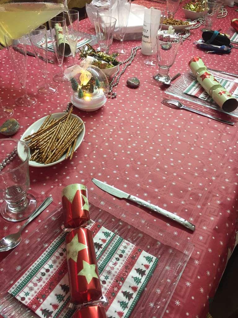 Manue a encore réalisé une très jolie table