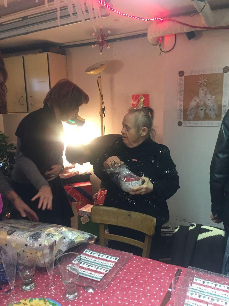 Le gros des cadeaux est chez David et Manue, et il y en a pour tout le monde....