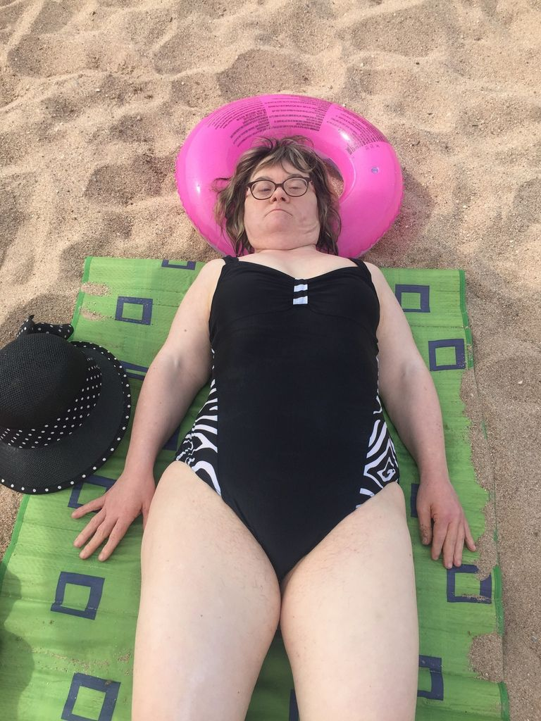 la reine de la plage !