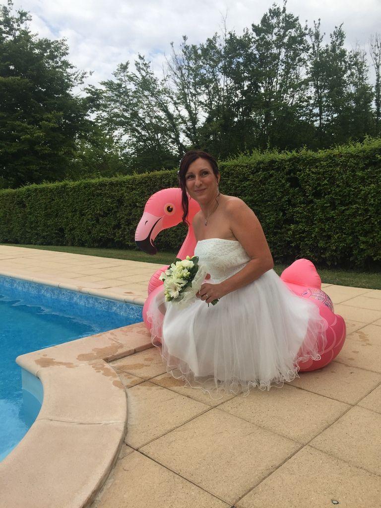 On pourrait mettre la mariée à l'eau ???