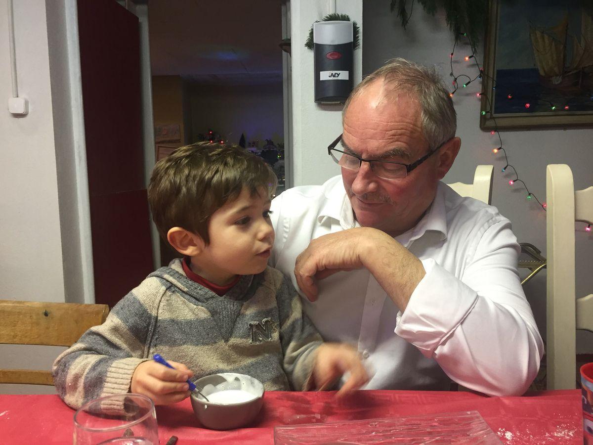 achille et son papy Jean-Jacques