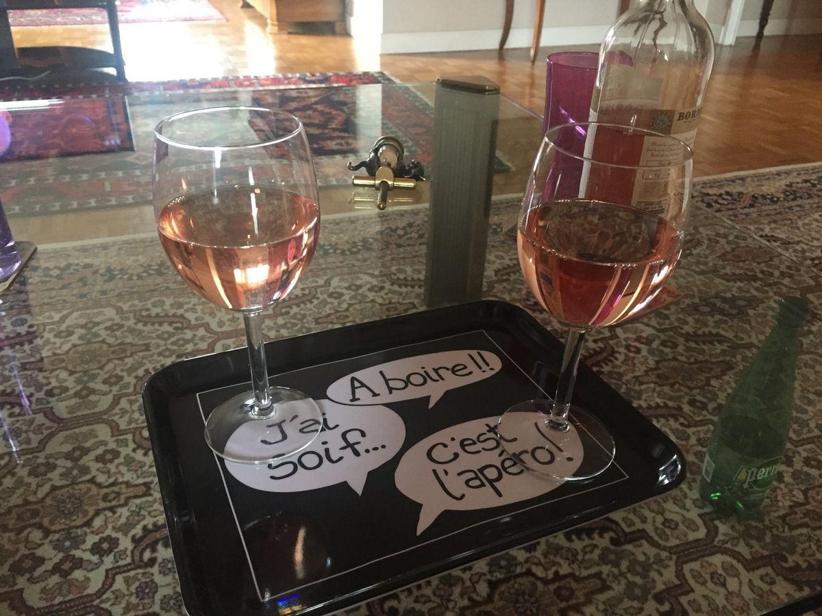 Le verre de bienvenue !!
