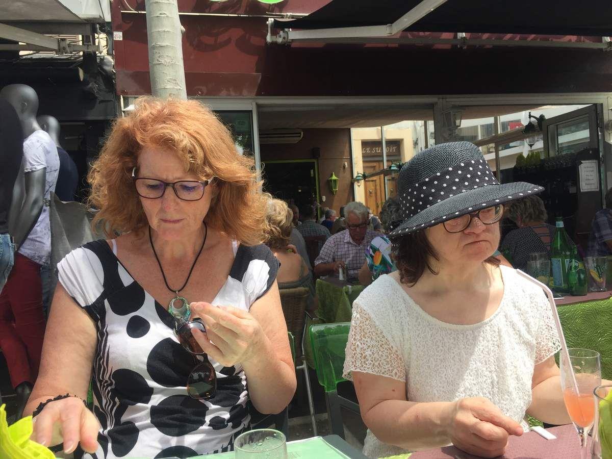 """On fête la """"fête des mamans"""" au restaurant Les 2 Filles à St Raphaël !"""