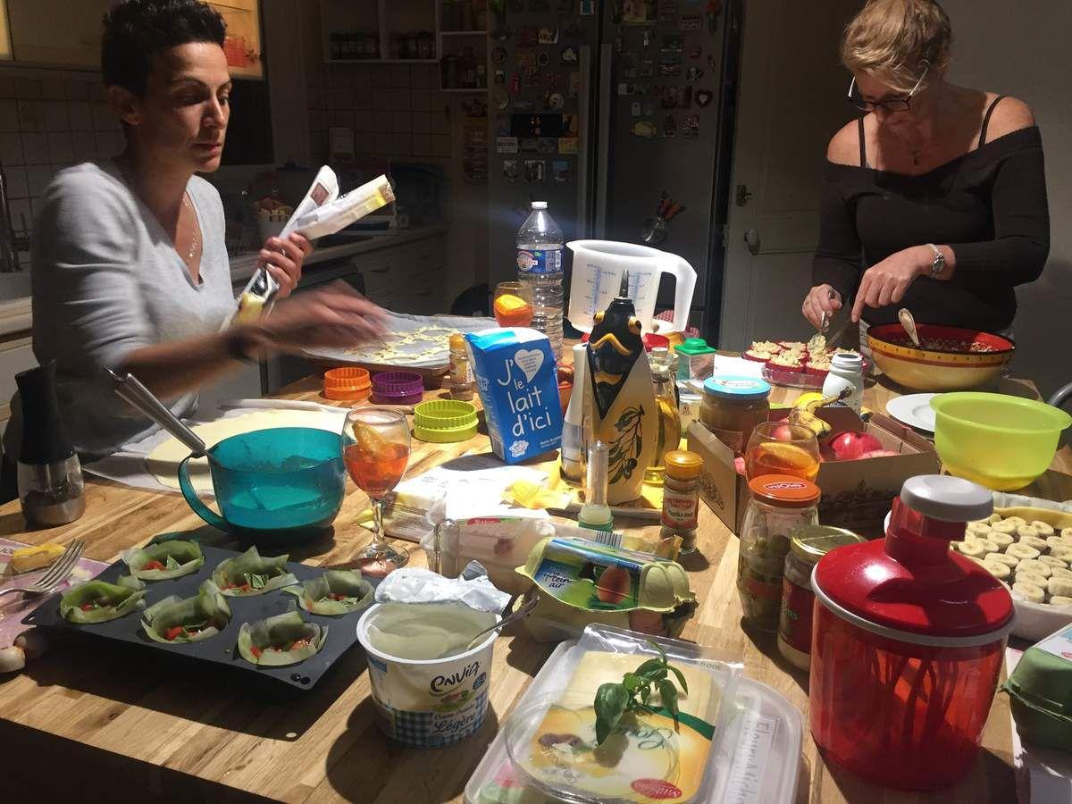 Emie se révèle toujours une excellente cuisinière avec des recettes originales !