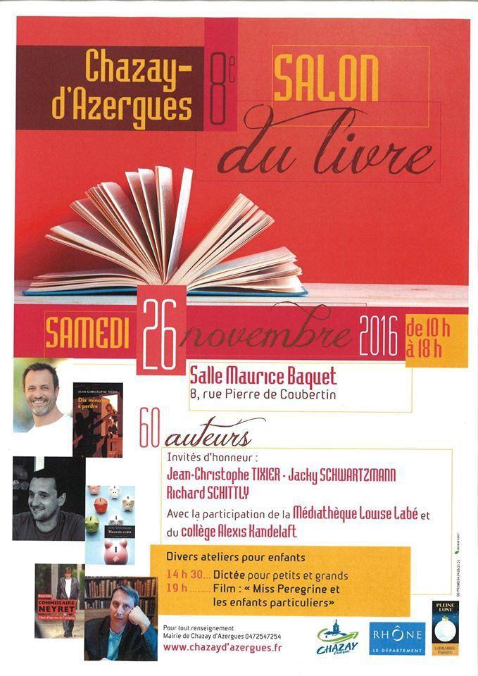 Salon du livre de Chazay d'Azergues