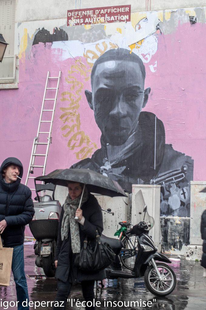 L'artiste ,son modèle et la Seine qui coule et coule ..à faire exploser les pixels des photographes
