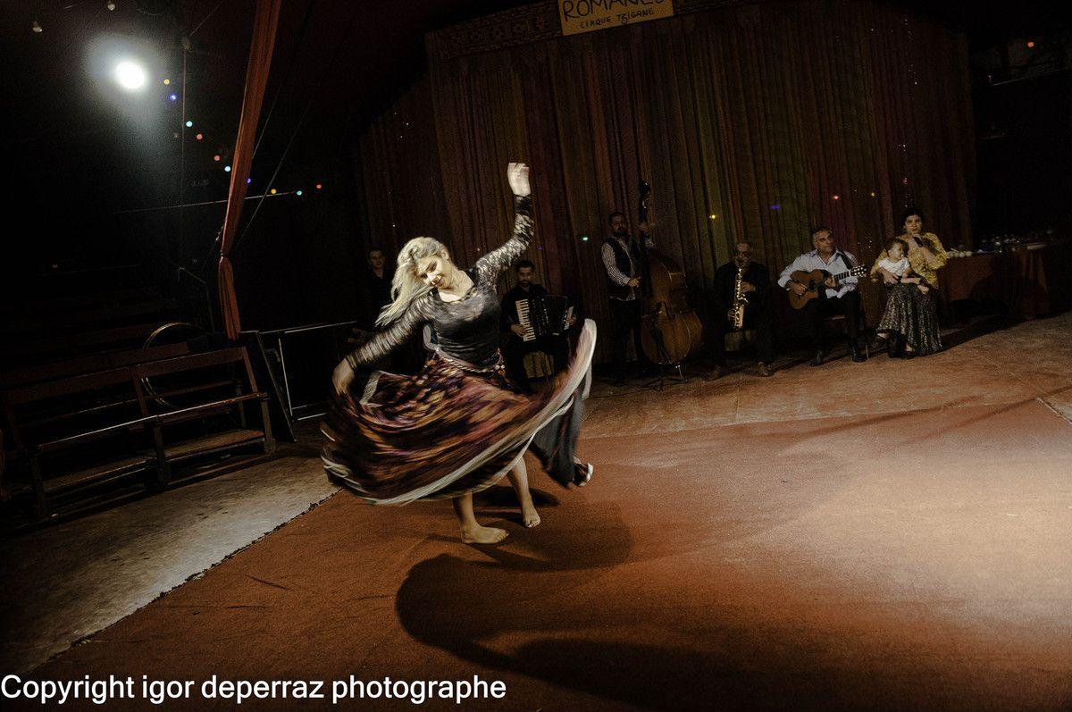 Le cirque Romanes en lumière